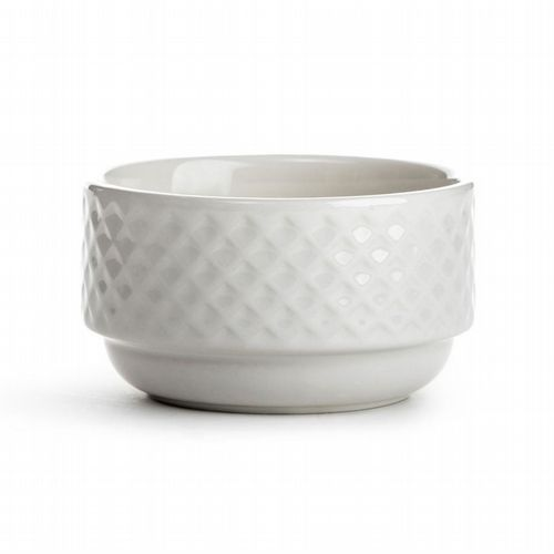 Stackable Breakfast Bowl - White
